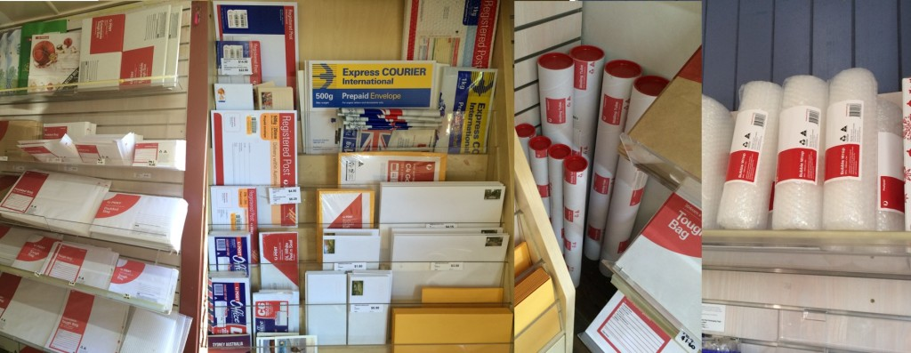 All Australia Post Postage and Packaging Needs